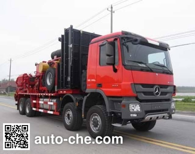 Sinopec SJ Petro SJX5361TYL105 fracturing truck