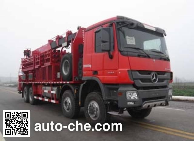 Sinopec SJ Petro SJX5380TYG fracturing manifold truck