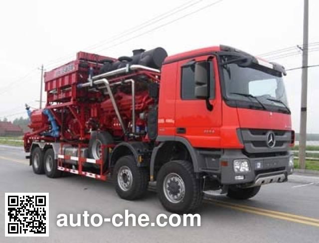 Sinopec SJ Petro SJX5400TYL140 fracturing truck