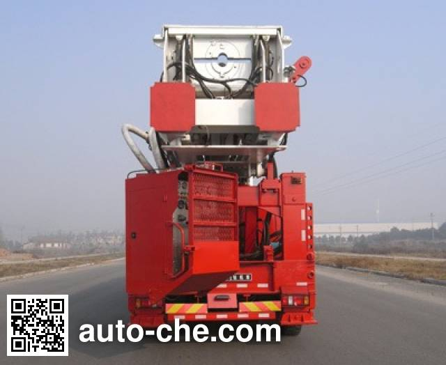Sinopec SJ Petro SJX5460TZJ drilling rig vehicle