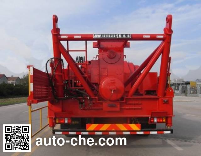 Sinopec SJ Petro SJX5550TZJ40 drilling rig vehicle