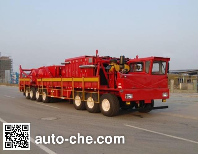 Sinopec SJ Petro SJX5551TZJ drilling rig vehicle