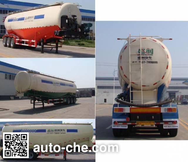 Shengrun SKW9401GFLC medium density bulk powder transport trailer