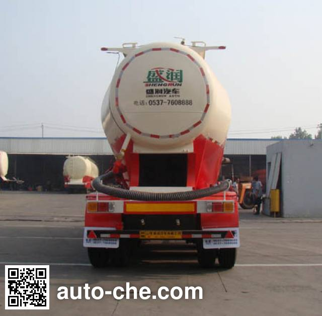 Shengrun SKW9381GFLC medium density bulk powder transport trailer