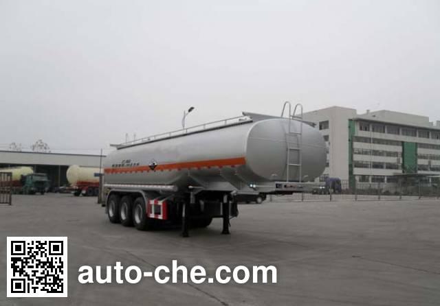 Shengrun SKW9400GFWA corrosive materials transport tank trailer