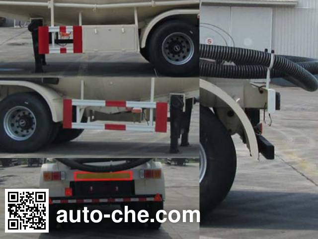 Shengrun SKW9400GXHA ash transport trailer