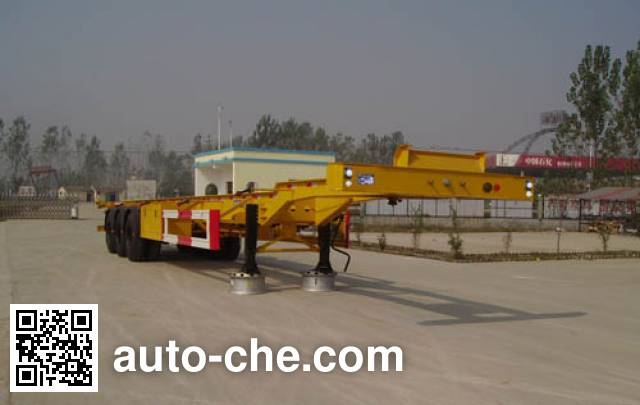 Shengrun SKW9400TJZ container transport trailer