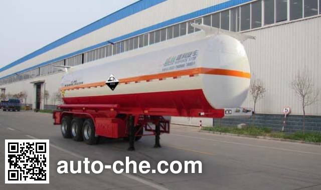 Shengrun SKW9401GFWA corrosive materials transport tank trailer