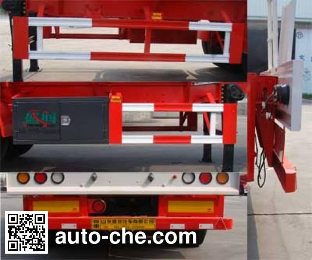 Shengrun SKW9407GRYT flammable liquid tank trailer