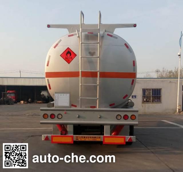 Shengrun SKW9401GYYL aluminium oil tank trailer