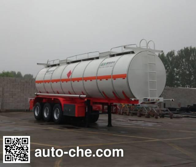 Shengrun SKW9402GRYT flammable liquid tank trailer