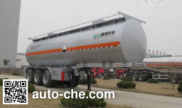 Shengrun SKW9403GFWT corrosive materials transport tank trailer