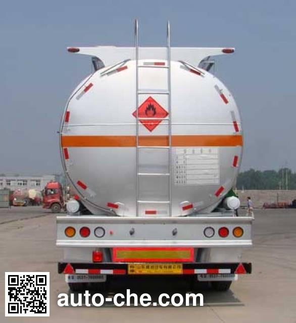 Shengrun SKW9403GRY flammable liquid tank trailer