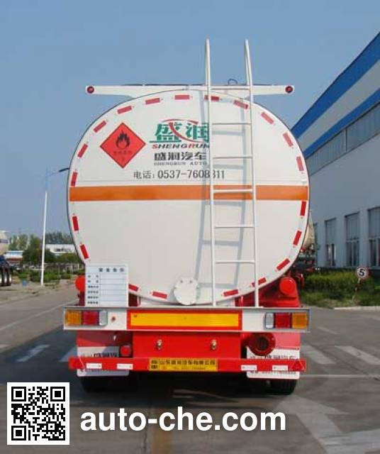 Shengrun SKW9403GRYT flammable liquid tank trailer