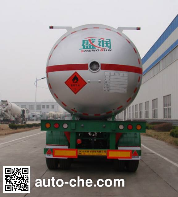 Shengrun SKW9403GYQ liquefied gas tank trailer