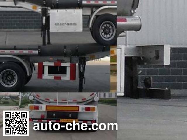 Shengrun SKW9403GYS liquid food transport tank trailer