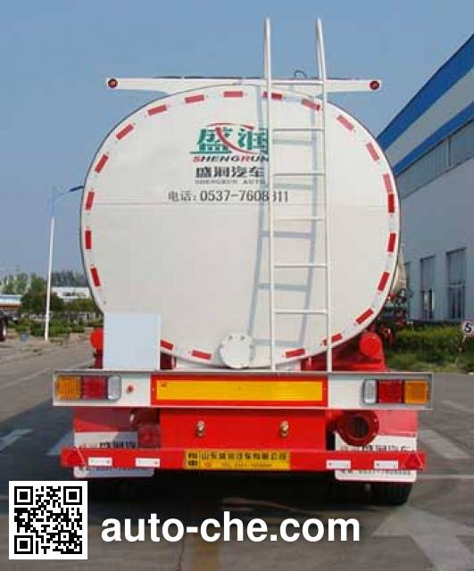 Shengrun SKW9404GLY liquid asphalt transport tank trailer