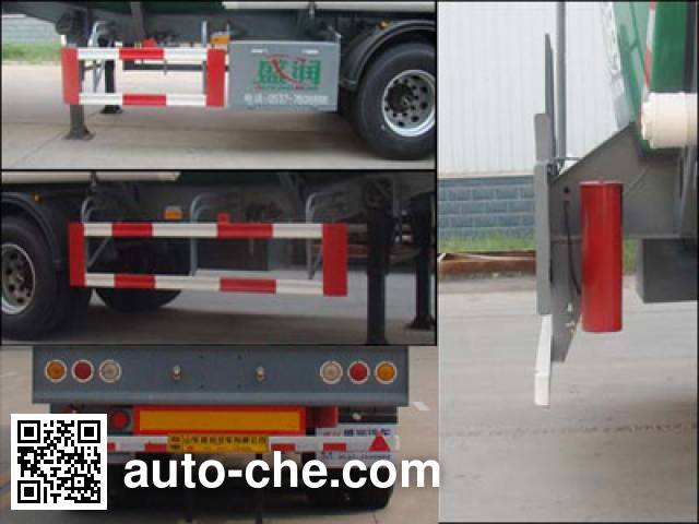 Shengrun SKW9404GRYT flammable liquid tank trailer