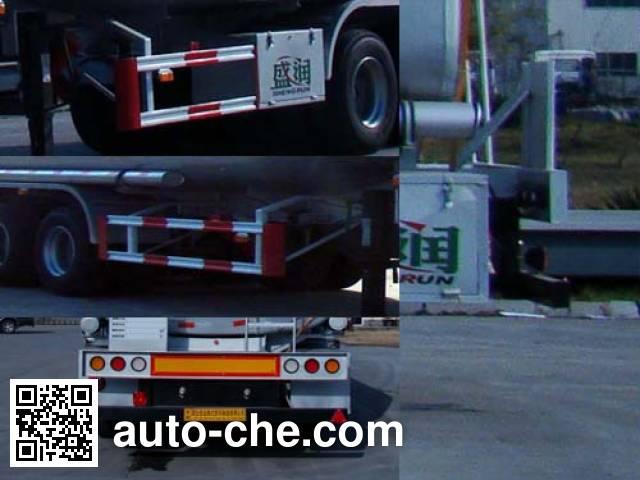 Shengrun SKW9404GYS liquid food transport tank trailer