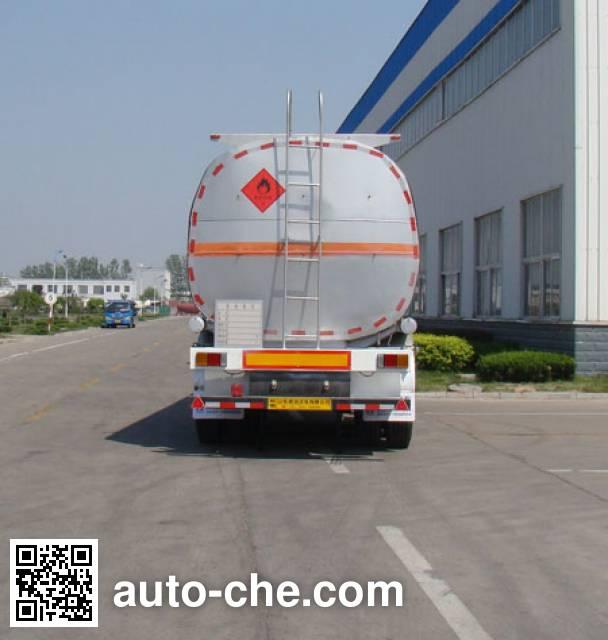 Shengrun SKW9405GRYT flammable liquid tank trailer