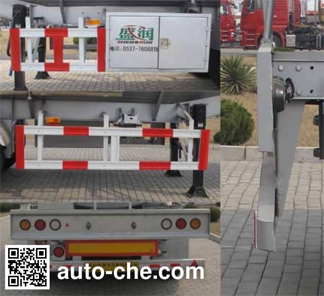 Shengrun SKW9405GYST liquid food transport tank trailer