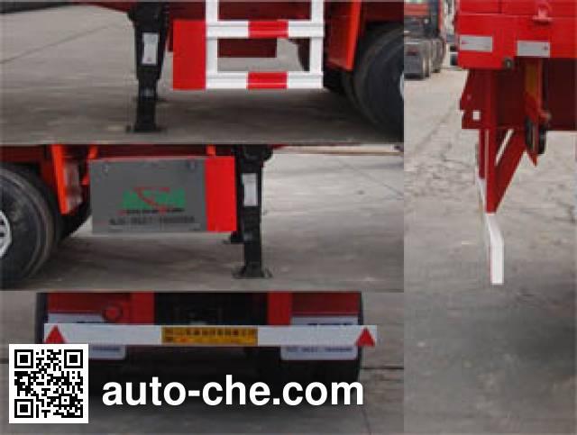 Shengrun SKW9407 dropside trailer