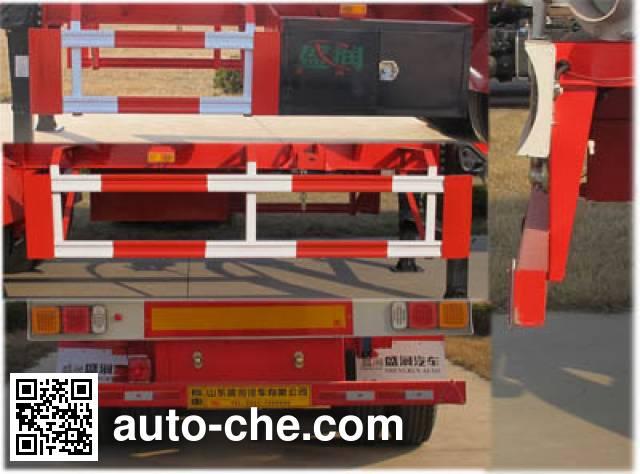 Shengrun SKW9409GRYT flammable liquid tank trailer