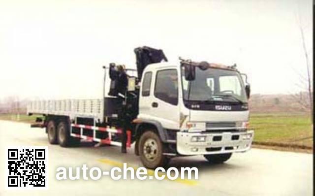 龙帝牌SLA5220JSQ随车起重运输车