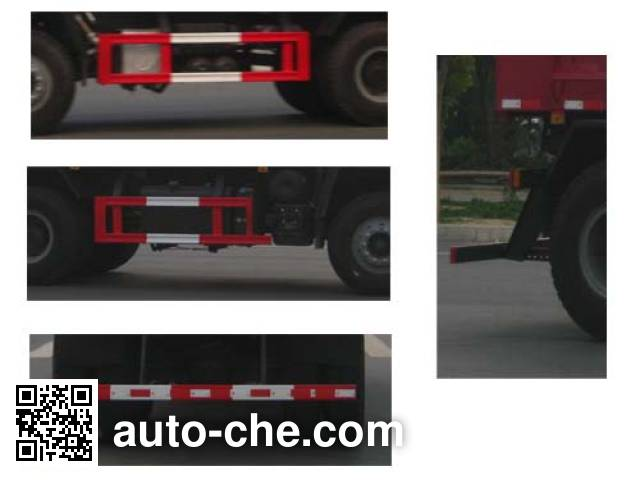 Longdi SLA5250TSGSX8 fracturing sand dump truck