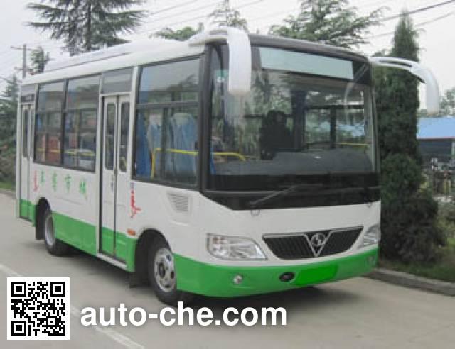 少林牌SLG6607C5GE城市客车
