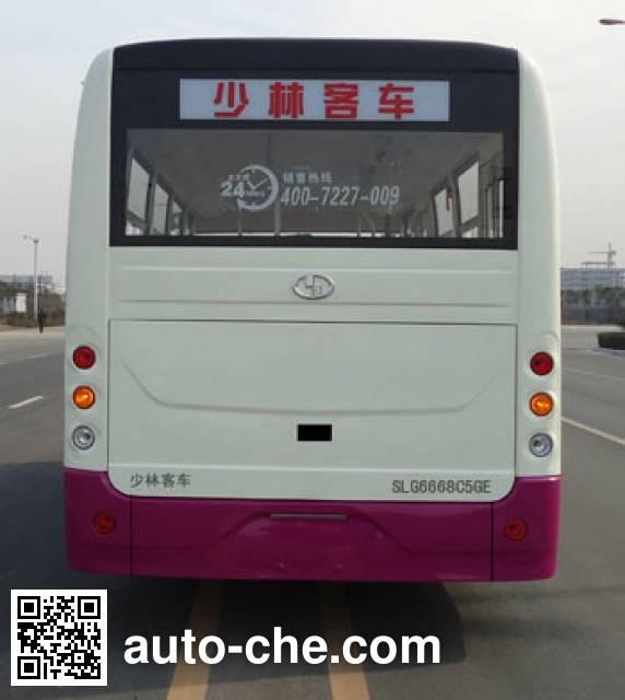 Shaolin SLG6668C5GE city bus