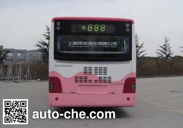 申龙牌SLK6105USBEV纯电动城市客车