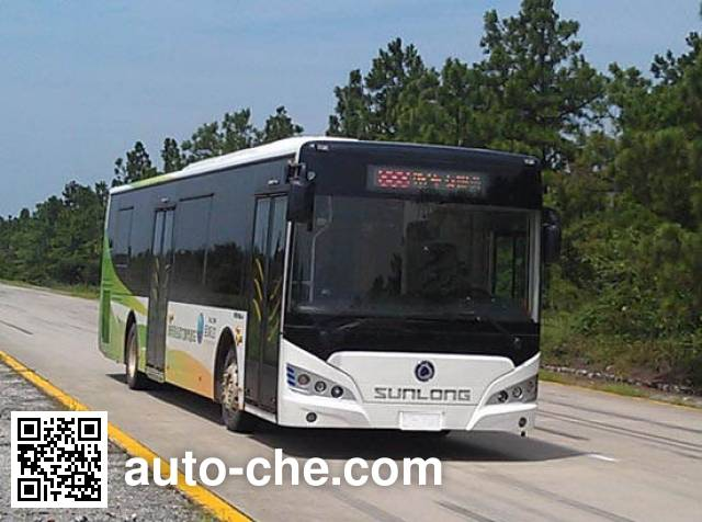 申龙牌SLK6109USNHEV01混合动力城市客车