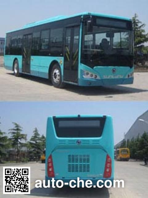 申龙牌SLK6129ULD5HEVZ2混合动力城市客车