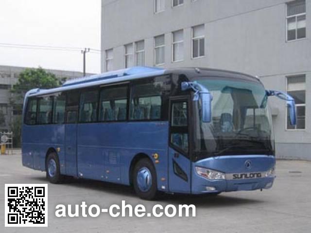 申龙牌SLK6118ULD5HEVL1混合动力城市客车