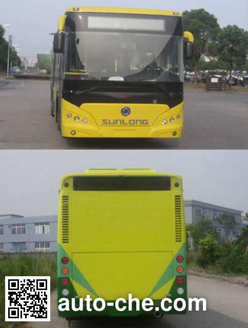 申龙牌SLK6119ULN5HEVZ2混合动力城市客车