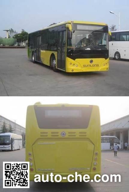 申龙牌SLK6129ULE0BEVY纯电动城市客车