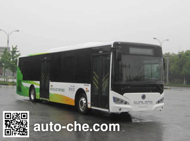 申龙牌SLK6129USCHEV01混合动力城市客车