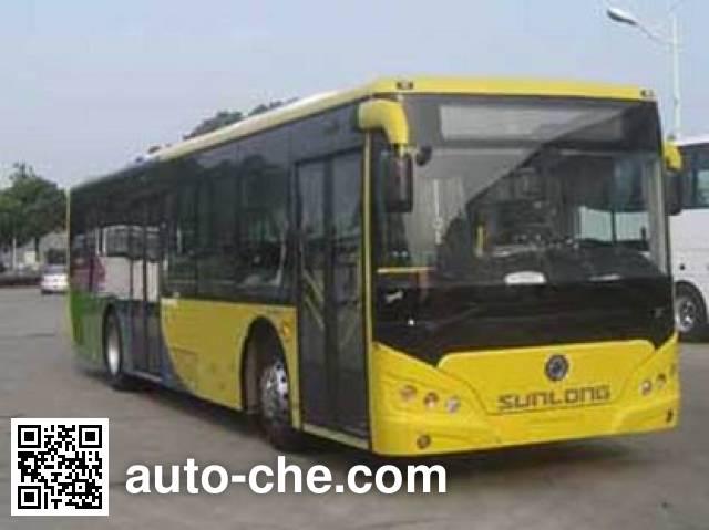 申龙牌SLK6129USCHEV02混合动力城市客车