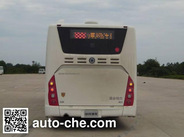 申龙牌SLK6129USNHEV01混合动力城市客车