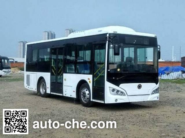 申龙牌SLK6859ULD5HEVL混合动力城市客车