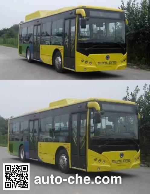 申龙牌SLK6859ULN5HEVL混合动力城市客车