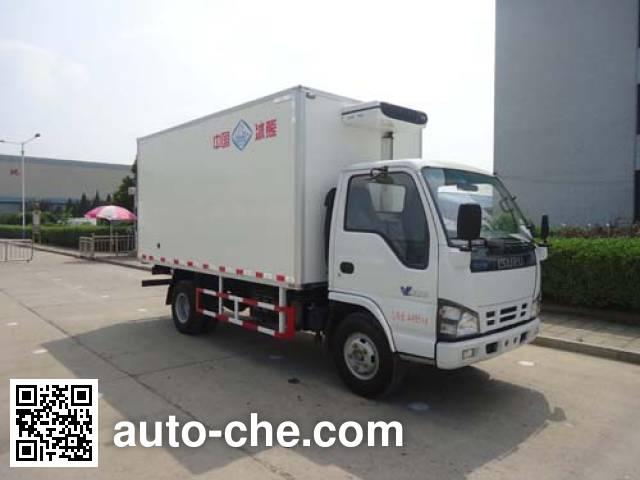 Yinguang SLP5041XLCS refrigerated truck