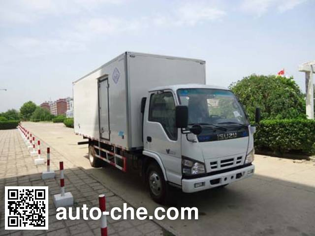 Yinguang SLP5070XBWS insulated box van truck