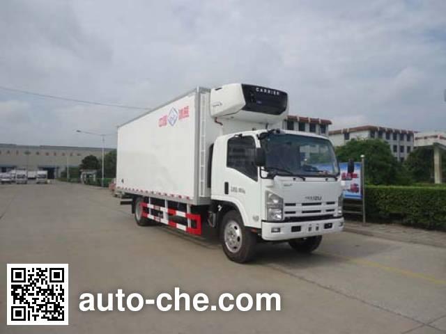 Yinguang SLP5100XLCS refrigerated truck