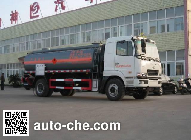 Xingshi SLS5161GHYH3 chemical liquid tank truck