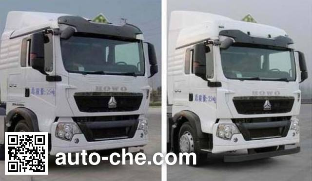 Xingshi SLS5251GRYZ5 flammable liquid tank truck