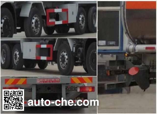 Xingshi SLS5312GYYE5S aluminium oil tank truck