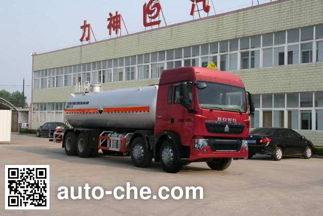 Xingshi SLS5320GFWZ4 corrosive substance transport tank truck