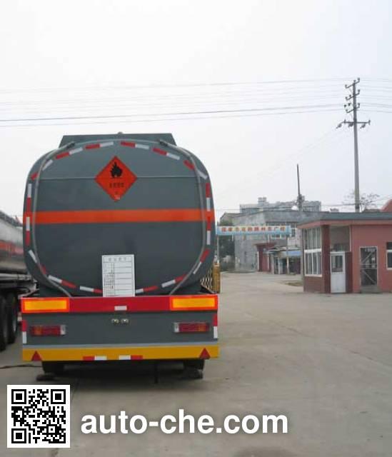 醒狮牌SLS9351GHY化工液体运输半挂车